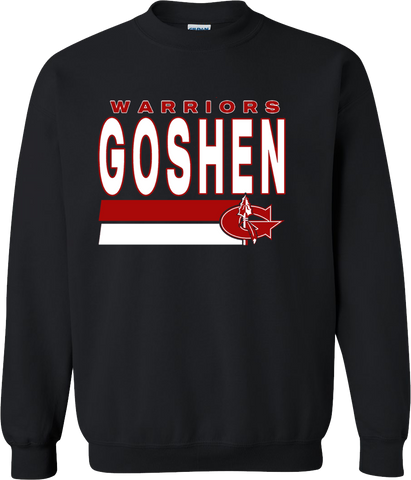 Goshen Warriors Tradition Design 1 Crew neck Sweatshirt