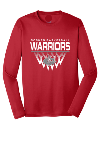 Warrior Basketball Faded Net Shooter Shirt