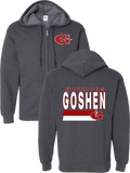 Goshen Warriors Tradition Design 1 Zip-Up Hoodie