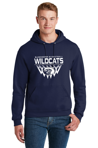 Blanchester Wildcats Youth Basketball Hoodie