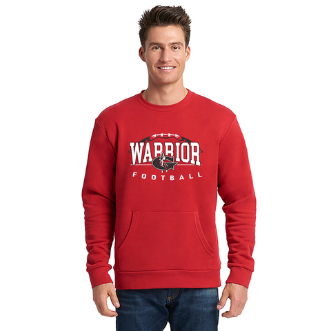 Goshen Warrior Design 2 fball Crew neck With Pocket