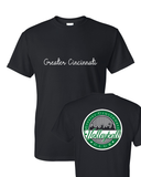 GCVC Script/Vineyard Tee (Front and back design)