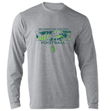 Wilmington College TUFFstreet Camo 50/50 blend Long Sleeve Tee