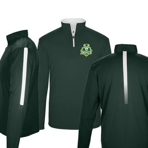 North Adams Green Devils Sideline Embroidered 1/4 Zip Up
