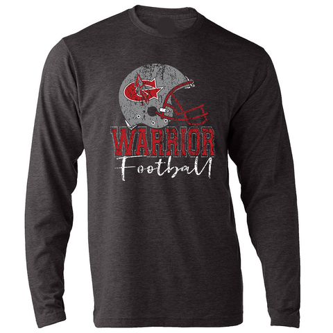 Goshen Warriors Helmet Football Long Sleeve Tee