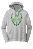 Wilmington College TUFFstreet 100% poly Silver Game Day Hoodie