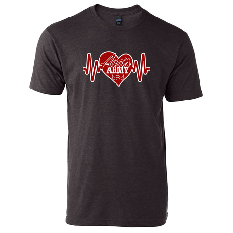 Ava's Army Heartbeat T-Shirt