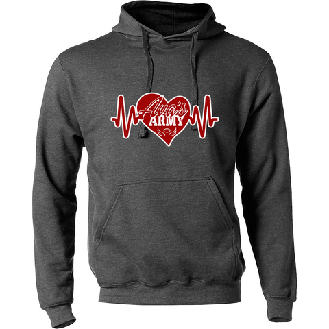 Ava's Army Heartbeat Hooded Sweatshirt