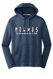 The One Where He Goes To Tokyo Poly Hooded Sweatshirt