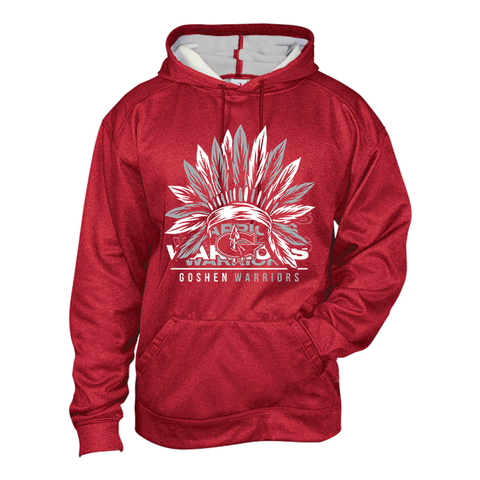 Goshen Warriors Headdress Poly Hoodie
