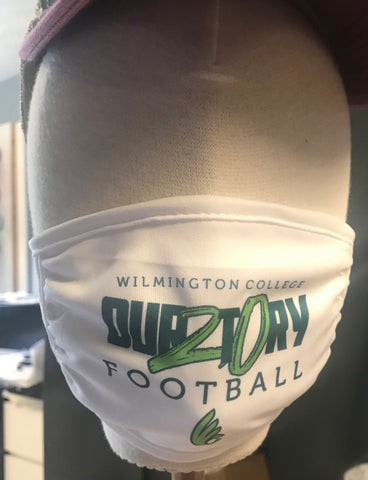 3-ply Wilmington Football OUR2T0RY mask
