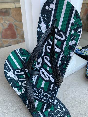 Greater Cincinnati Volleyball Club Flip-Flops