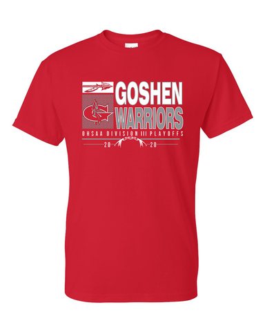 Goshen Warriors 2020 Playoff Tees