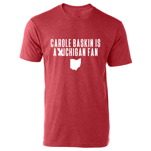 Carole Baskin Is a Michigan Fan Tee