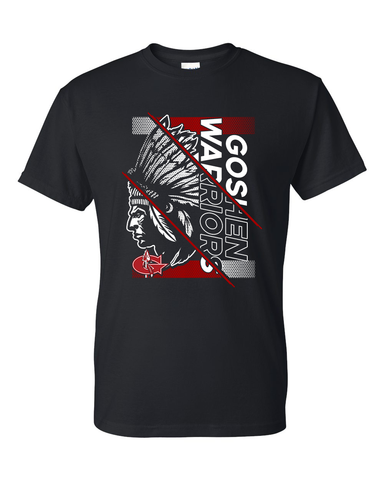 Goshen Warriors Giant  Logo Tee