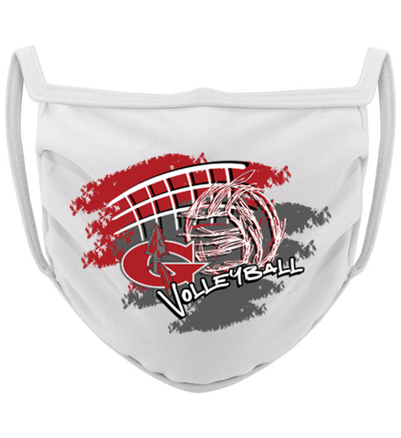 3-ply Goshen Volleyball Season mask