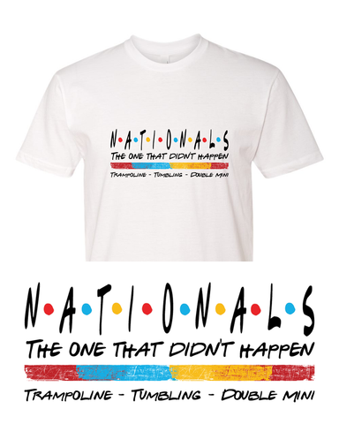 Nationals (The one that didn't happen) Team Shirt