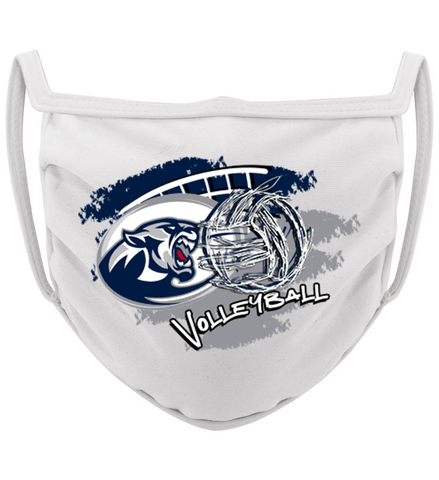 3-ply Blanchester Volleyball Season mask