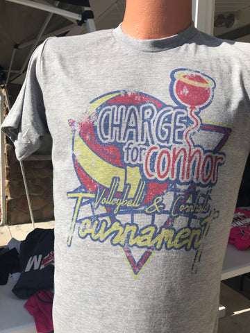 CHARGE for Connor Tourney Tee