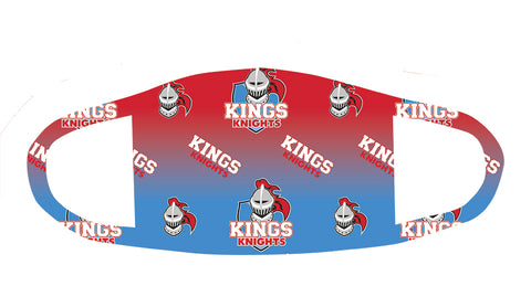 Kings Knights Red Fade Mask