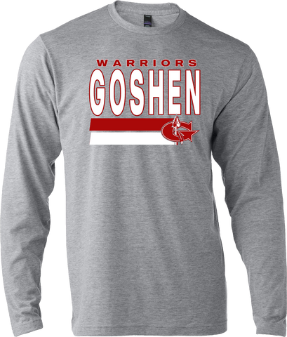 Goshen Warriors Tradition Design 1 Long Sleeve Tee