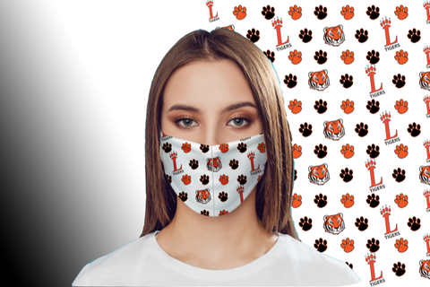 Three Layered Loveland Tigers Mask