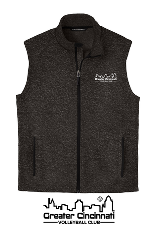 GCVC Embroidered Unisex Zip Vest
