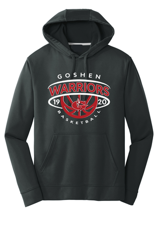 Goshen Warrior Basketball Dominance Poly Hoodie