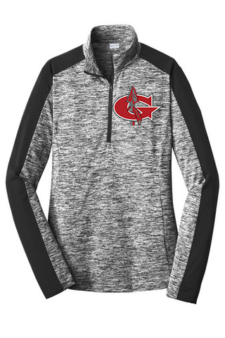 Goshen Embroidered G Quarter Zip (UNISEX AND LADIES FIT OPTIONS BELOW)