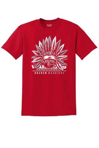 Goshen Warrior Vintage Warrior Feather Tee