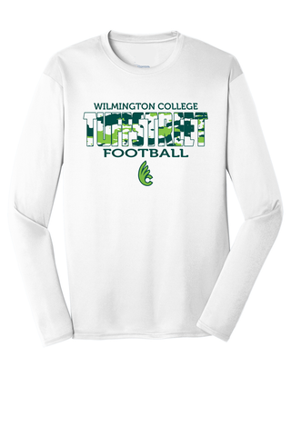 Wilmington College TUFFstreet Camo 100% poly Long Sleeve Shirt