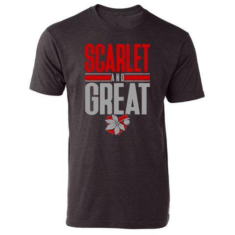 Scarlet and Great Tee