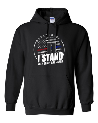I Stand with Brady and Jarad Hoodie