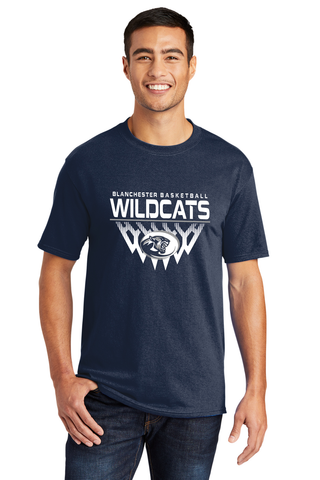 Blanchester Wildcats Youth Basketball Tee