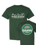 GCVC Main Logo/Vineyard Tee (Front and back design)