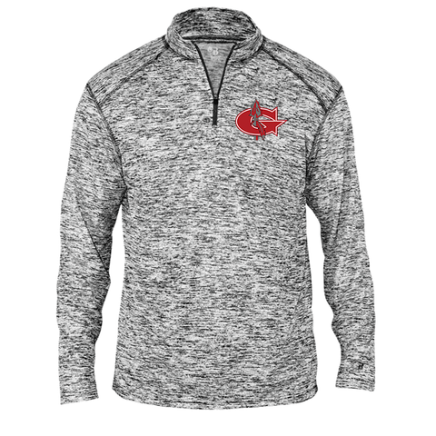 Goshen Warriors Static Embroidered 1/4 Zip Up