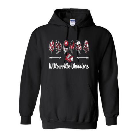 Willowville Warriors Design 1 Hoodie