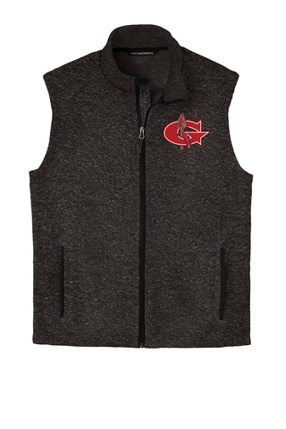 Goshen Warrior Embroidered Unisex Zip Vest