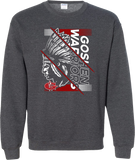 Goshen Warriors Giant Logo Design 4 Crewneck Sweatshirt