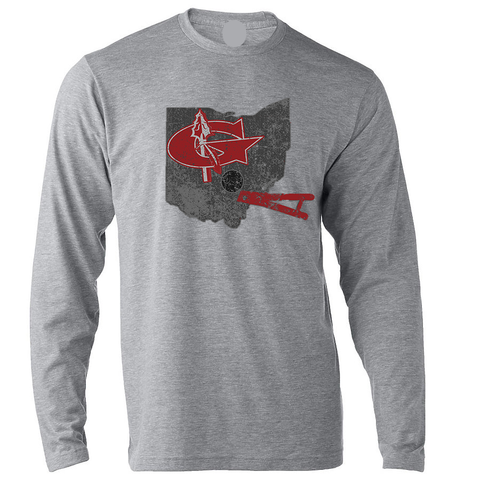 Warrior State of Mind Football long sleeve Tee