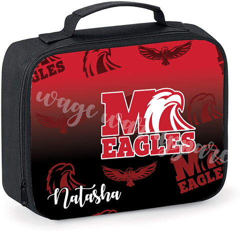 Customized Milford Insulated Lunch Tote