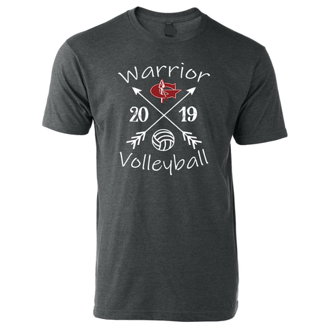 Goshen Warriors Arrow Volleyball Tee