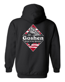 Goshen Warrior Patagonia 2022 Class Fundraiser Hooded Sweatshirt