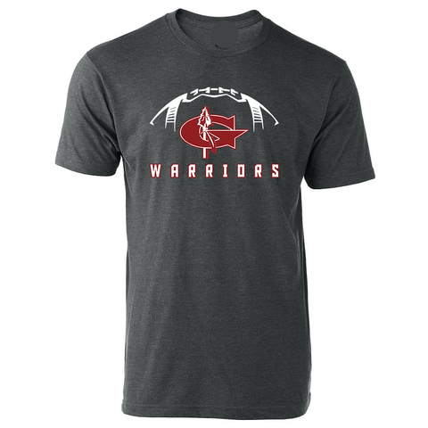 Goshen Warrior Football Tee with Custom Name/Number
