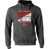Warrior Strong Hoodie with Custom Name/Number