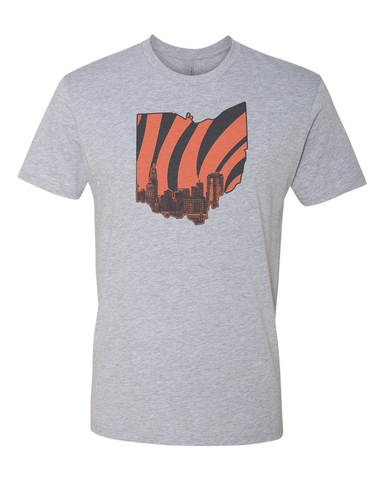 Who Dey State of Mind T-Shirt