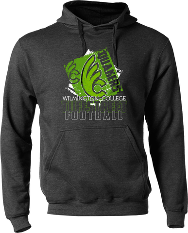 Wilmington College TUFFstreet Quaker soft blend Hoodie