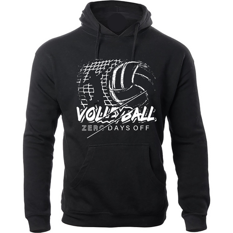 Wage War Apparel Zero Days Off Volleyball Hoodie