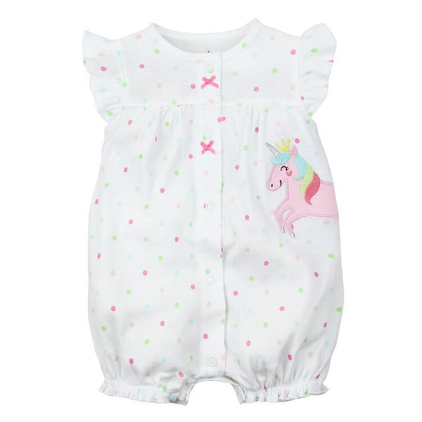 Baby Cotton Rompers