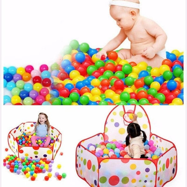 Colorful Soft Plastic Ball Pool
